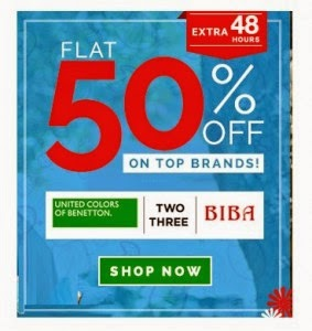 Babyoye: Buy United Colors of Benetton, Nauti Nati, BIBA Kids clothing flat 50% off from Rs.100