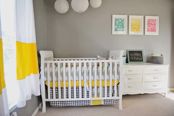 The infantil decora: ideas de diseño moderno para el cuarto del bebe