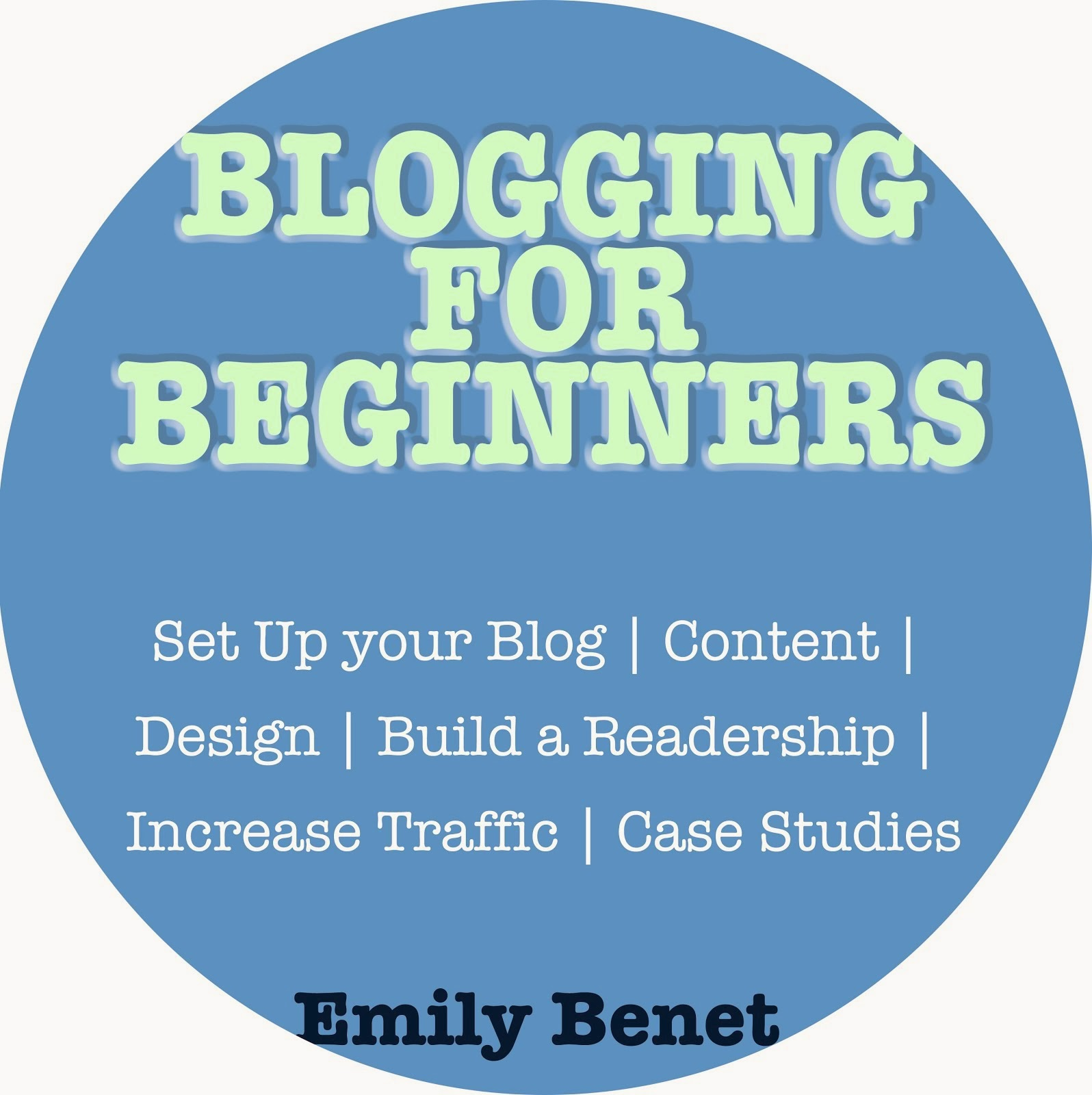 NEW: Blogging for Beginners eBook (£1.92 / $2.99)