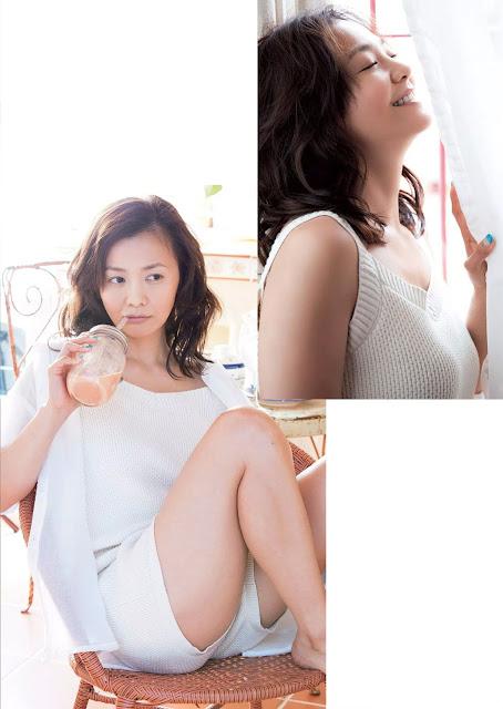 華原朋美 Tomomi Kahala Weekly Playboy 週刊プレイボーイ July 2015 Photos 2