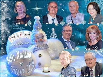 La Directiva de Espejo os desea Felices Fiestas