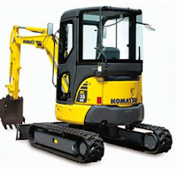Komatsu PC35 Mini Excavator for Rent in NY