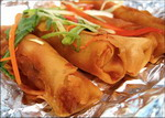 Lumpia with Sweet Potatoes