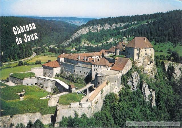 Postcard | France | Château de Joux (Fort de Joux)