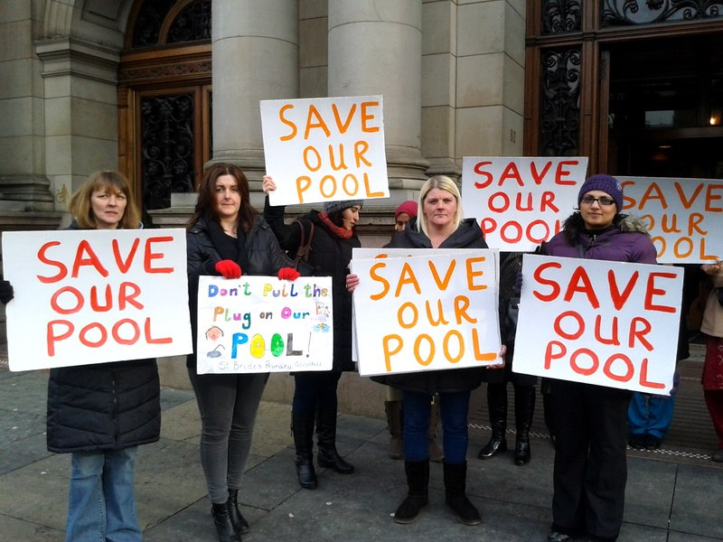 No cuts full stop february 2013 - Glasgow city council swimming pools ...