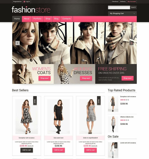 Fashion Store Responsive WooCommerce Theme
