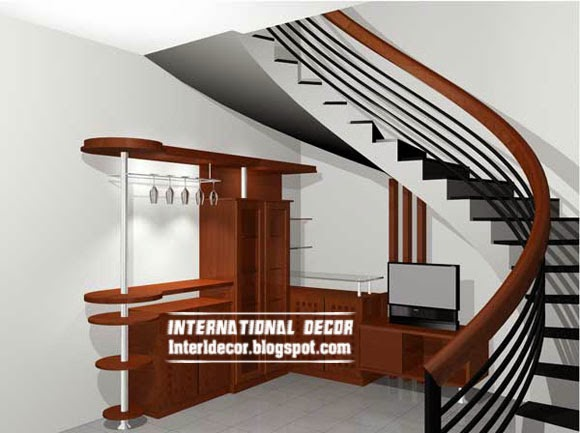 Latest staircase design with modern techniques home decoration ideas - Modern interior design with spiral stairs contemporary spiral staircase design ...