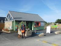 ブルターニュ、イル・グランドのキャンプ場