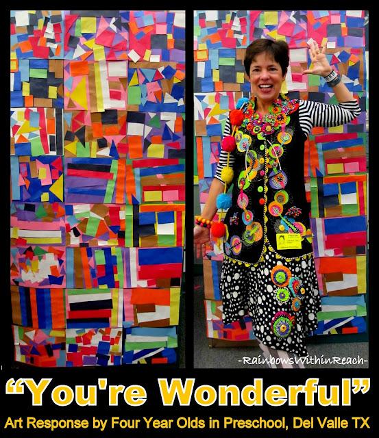 Debbie Clement Appreciates AUTHENTIC Preschool Art: Patterns, Colors, Shapes