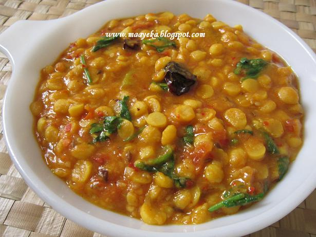 Chana Daal Fry (Bengal Gram Fry) | Maayeka - Authentic Indian ...