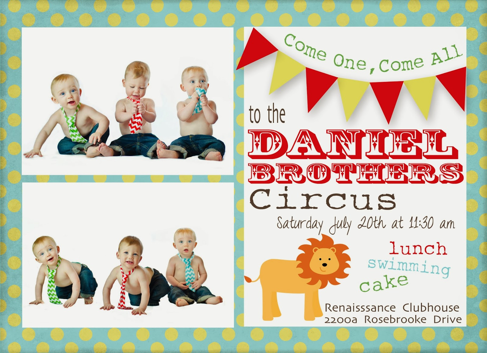In the Daniel\'s Den: The Daniel Brother\'s Circus
