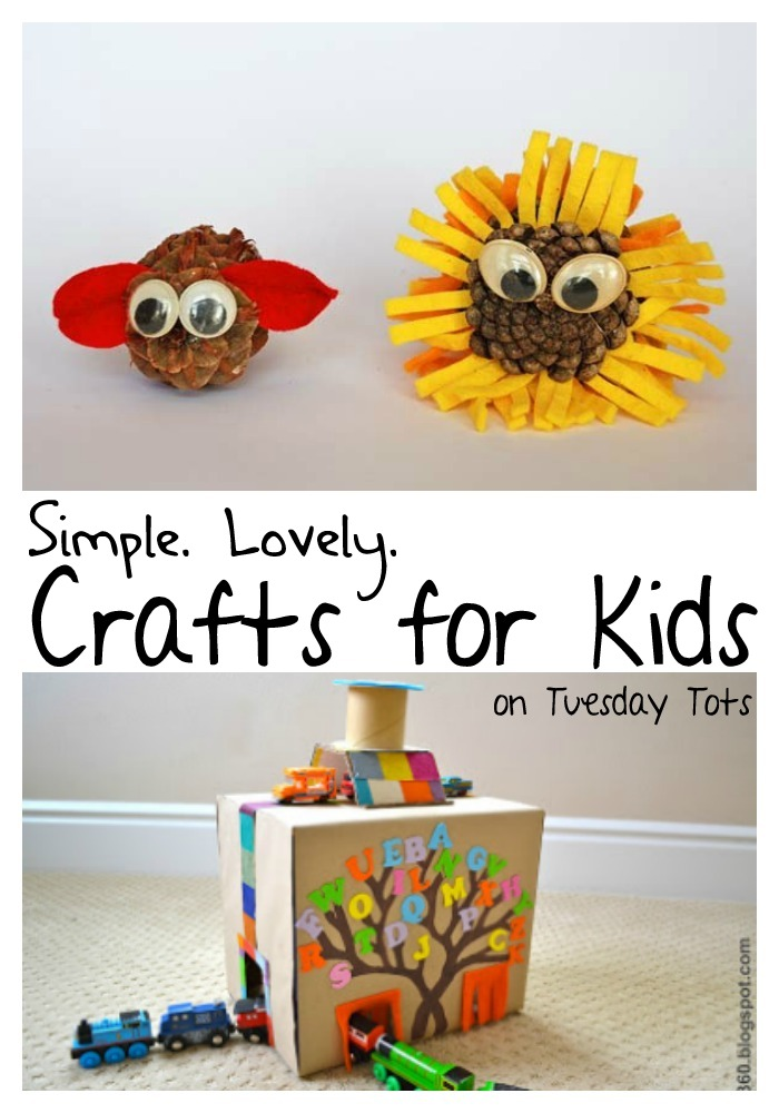 Learn With Play At Home Easy Crafts For Kids