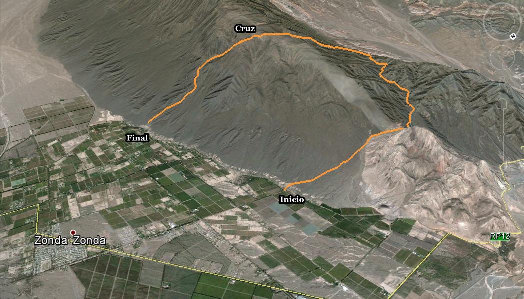 Circuito Zonda San Juan : Trekking san juan: sierras azules ii el pequeño gran viaje