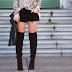 Botas Over the Knee com shorts: você curte?