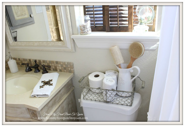From My Front Porch To Yours-Famrhouse Style-Guest Bathroom