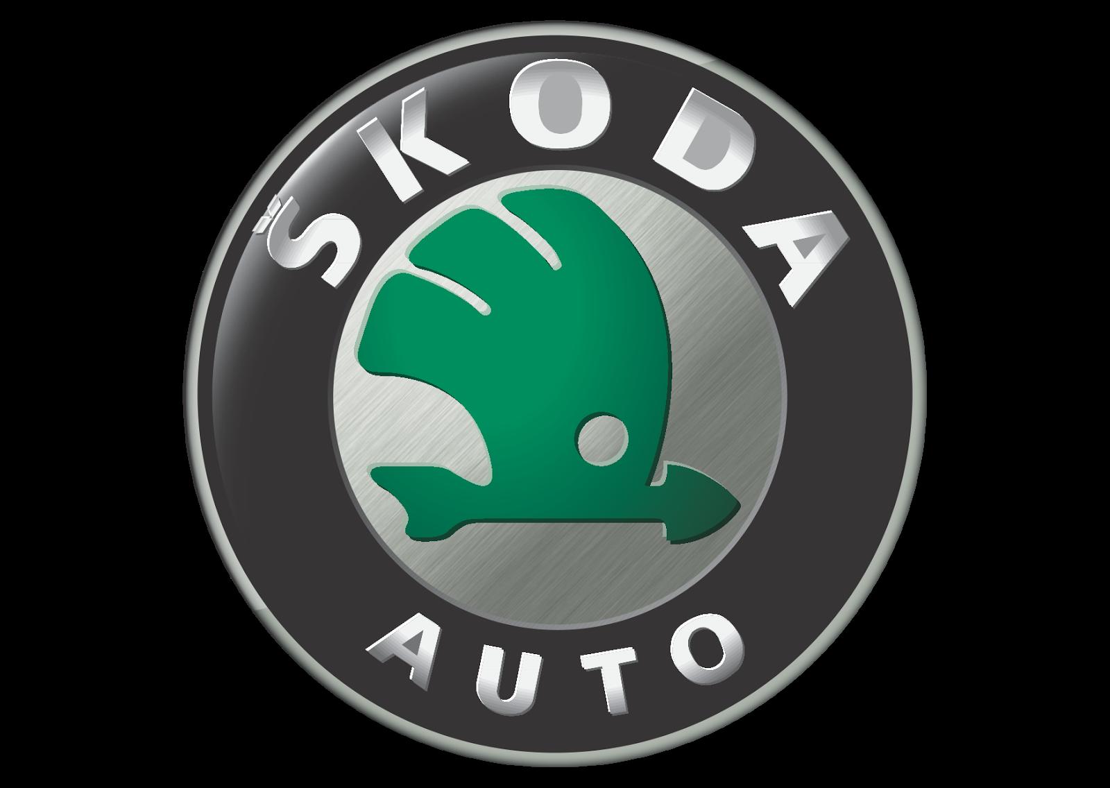 skoda logo vector automobile manufacturer format cdr