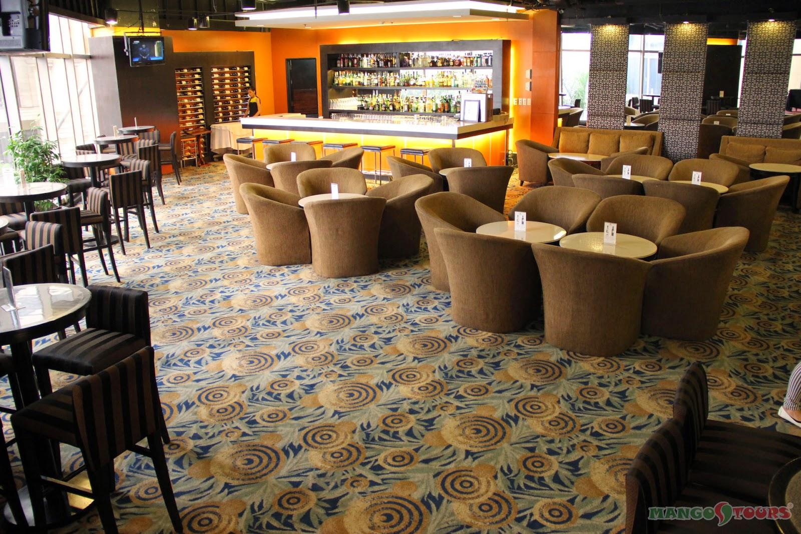 Mango Tours Holiday Inn Manila Galleria Bar Philippines