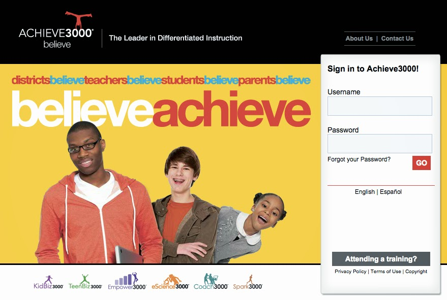 The Learning Coach: Achieve 3000 Data Reviewed