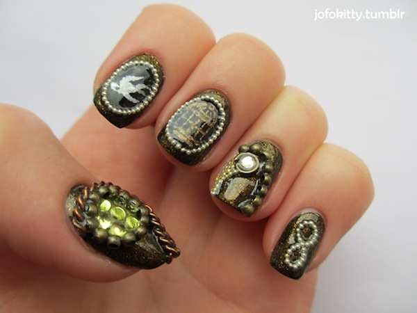 I Have Seen The Whole Of The Internet Bioshock Infinite Nail Art