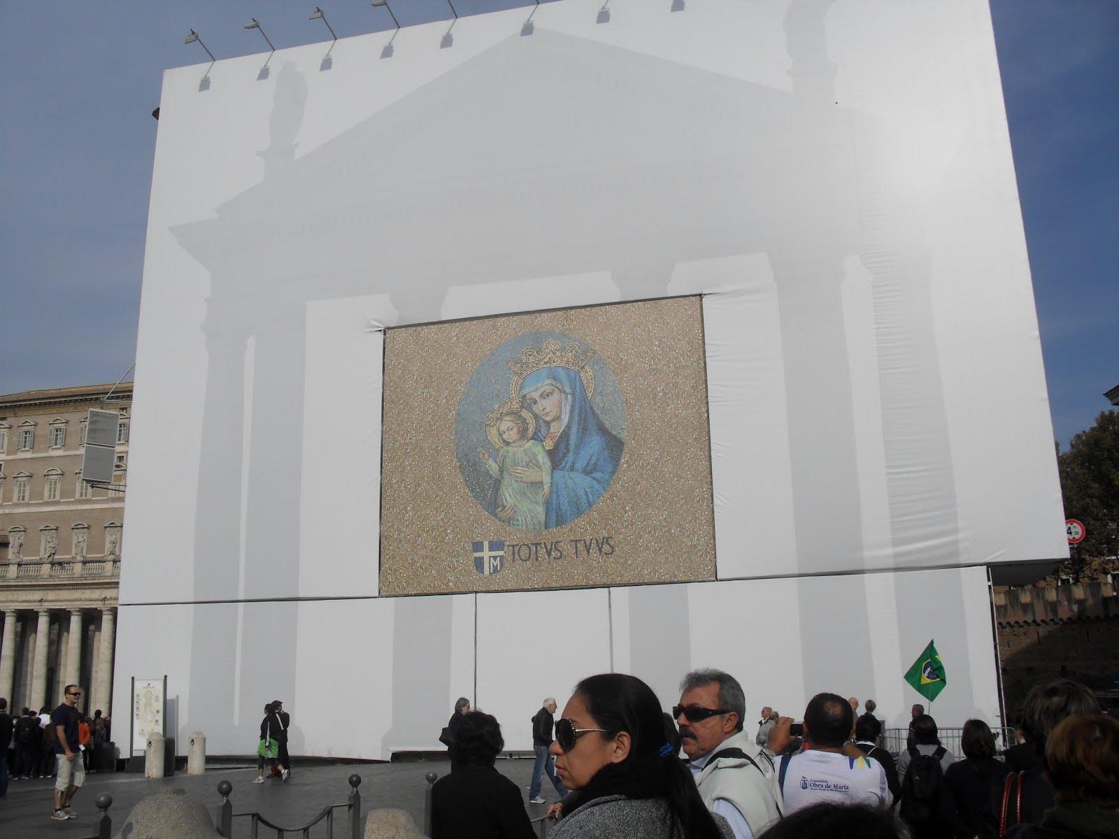 Homenagem Joao Paulo II