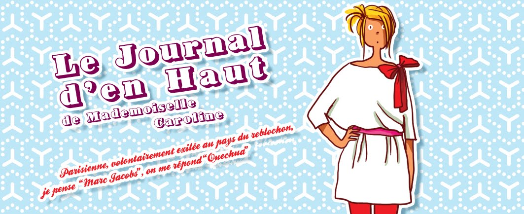 Le Journal d&#39;en Haut de Mademoiselle Caroline