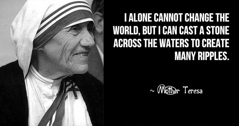 Smiles No Matter: Mother Teresa Quotes