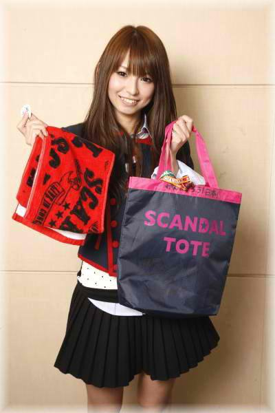 Haruna Ono and SCANDAL Merchandise