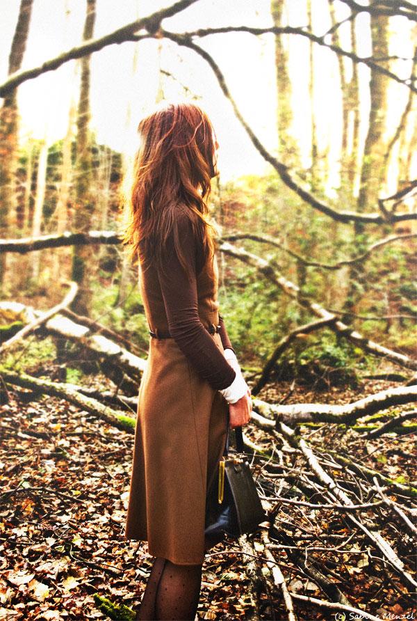 Psynopsis Brown Next Wool Dress Zara Turtleneck