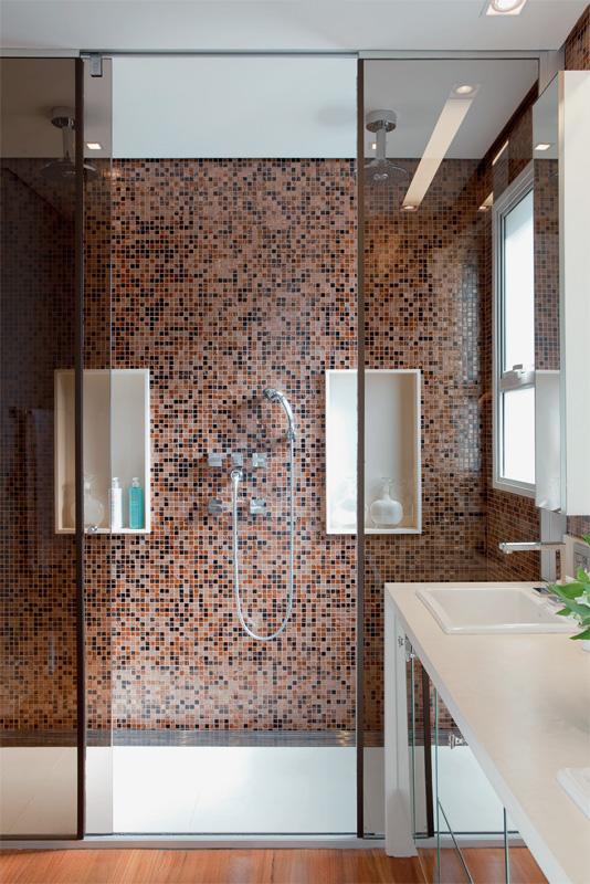Banheiros Modernos, quais são as tendências?  Decor Salteado  Blog de Decor -> Banheiro Moderno Madeira