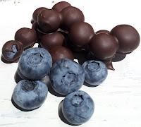 Bleuets chocolat noir Mathilde Fays