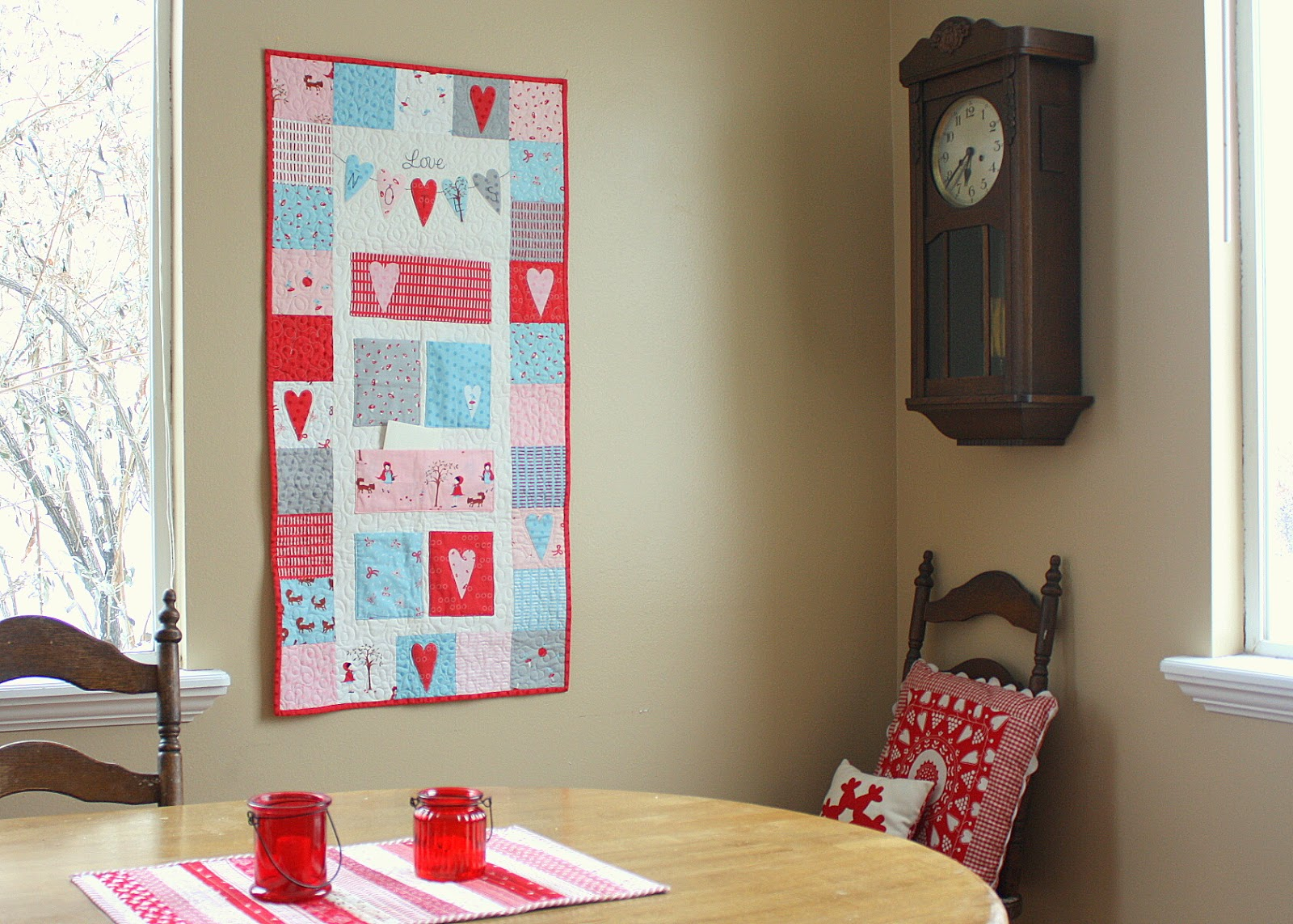 Diary of a Quilter - a quilt blog: Valentines Projects