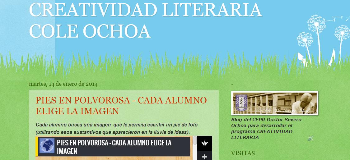CREATIVIDAD LITERARIA DEL COLE OCHOA