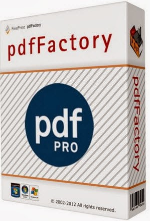 pdfFactory Pro 5.02 Workstation & Server Edition