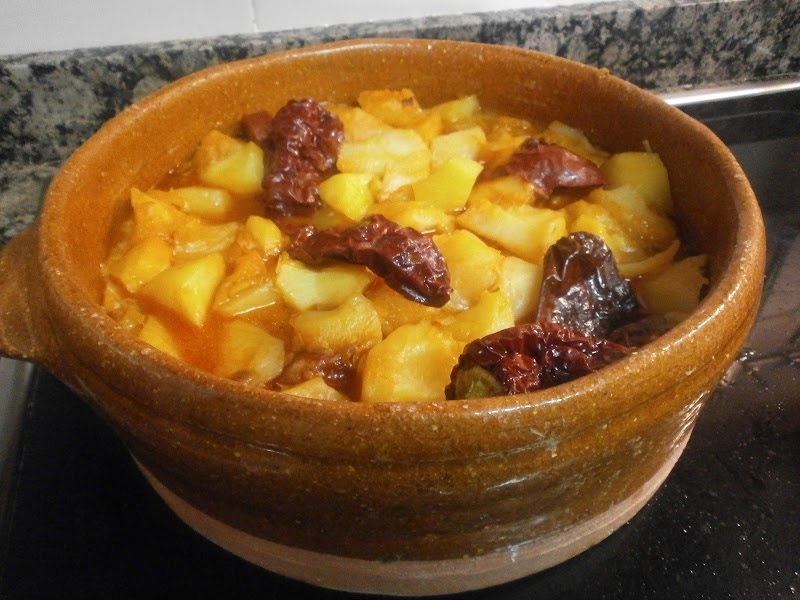 Tximitxurri patatas a la riojana - Prensa patatas ...