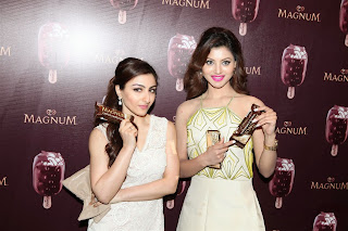 Urvashi Rautela Pictures in Short Dress at Magnum Ice Cream Flavour Launch ~ Celebs Next
