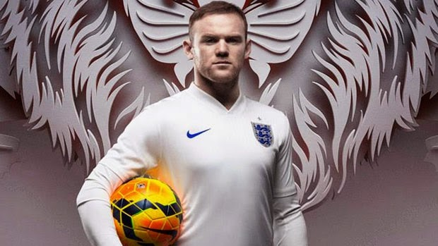 Jersey England World Cup Rooney