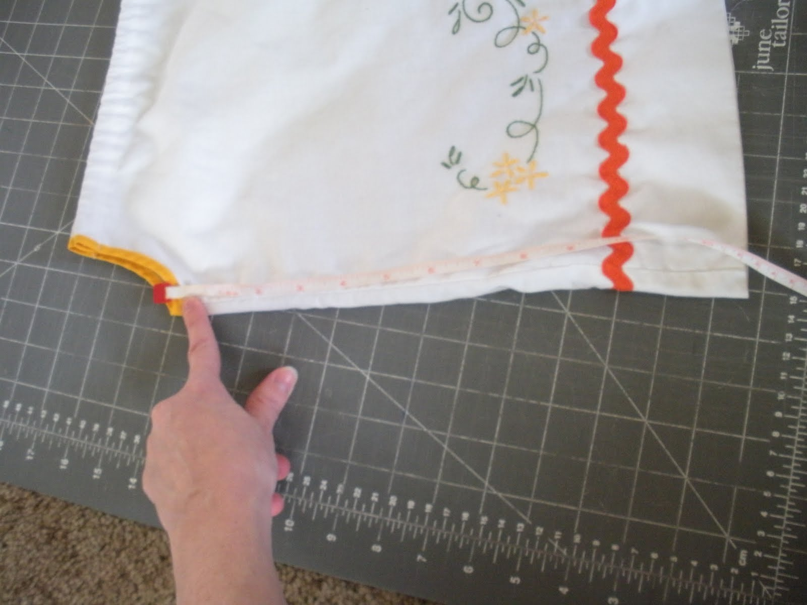 Creations From A Wired Mommy Pillowcase Dress Tutorial
