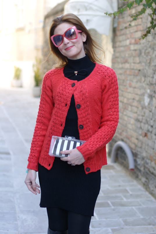 Fashion and Cookies, cuissardes, Zara perspex clutch