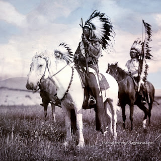 Sioux Chiefs by Edward S Curtis