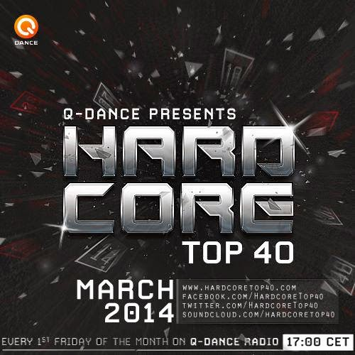 Hardcore Top 40 - March 2014