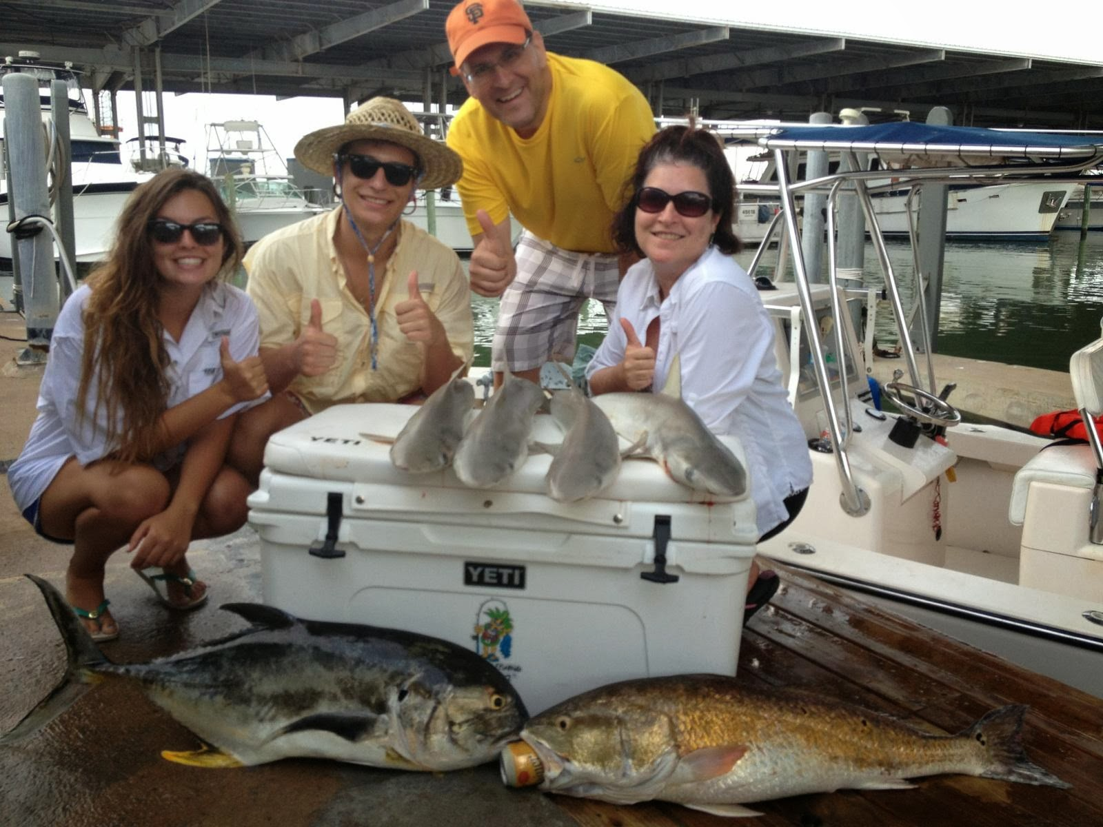 January 2014 galveston fishing charter company for Galveston fishing report seawolf park