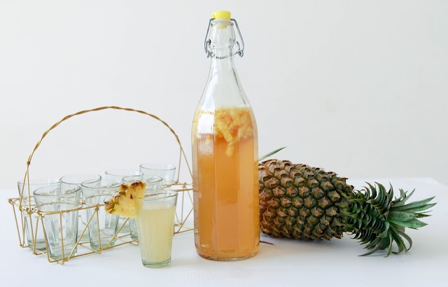 loveurbelly Pineapple Kombucha Tea Recipe