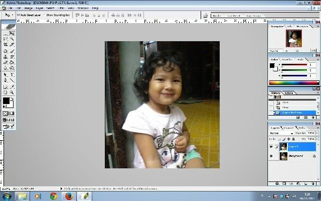 Tips Sederhana Cara Mencerahkan Wajah dengan Photoshop CS