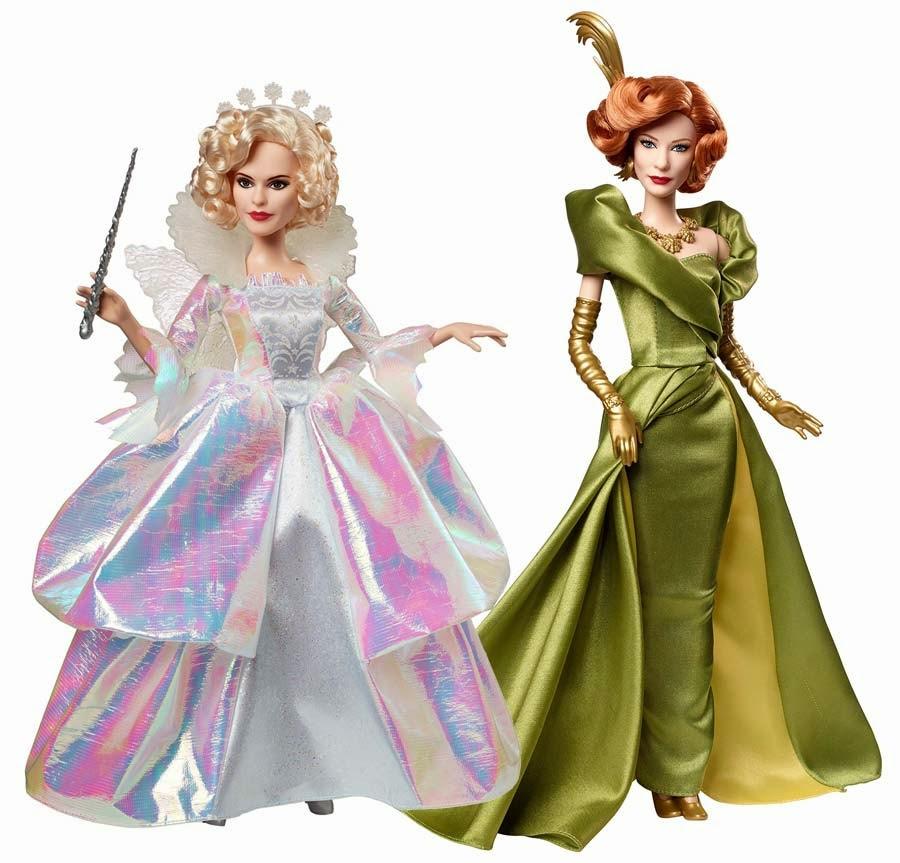 Barbie Mattel  Fada Madrinha e Madrasta