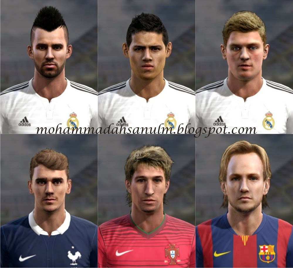 PES 2013 Facepack by kimo_@10