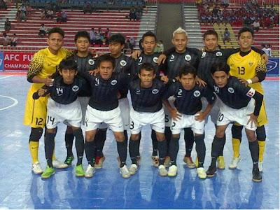 timnas futsal indonesia PPA 2012