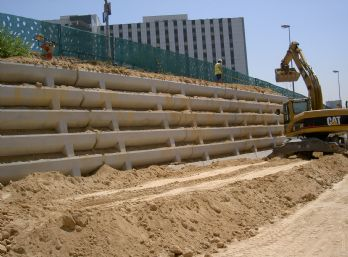 Proceso constructivo de muros verdes