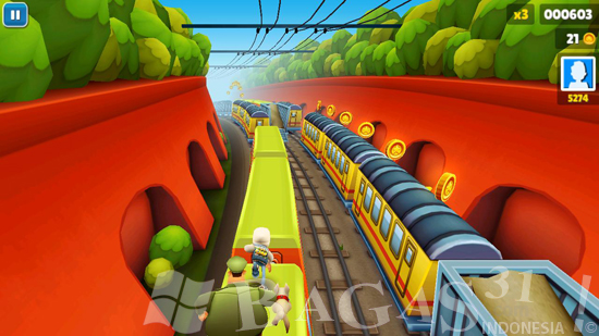 Subway Surfers HD for PC Full Version 3