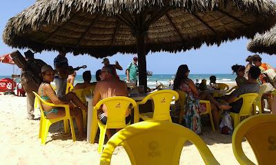Repentistas na Praia do Futuro - Fortaleza - CE