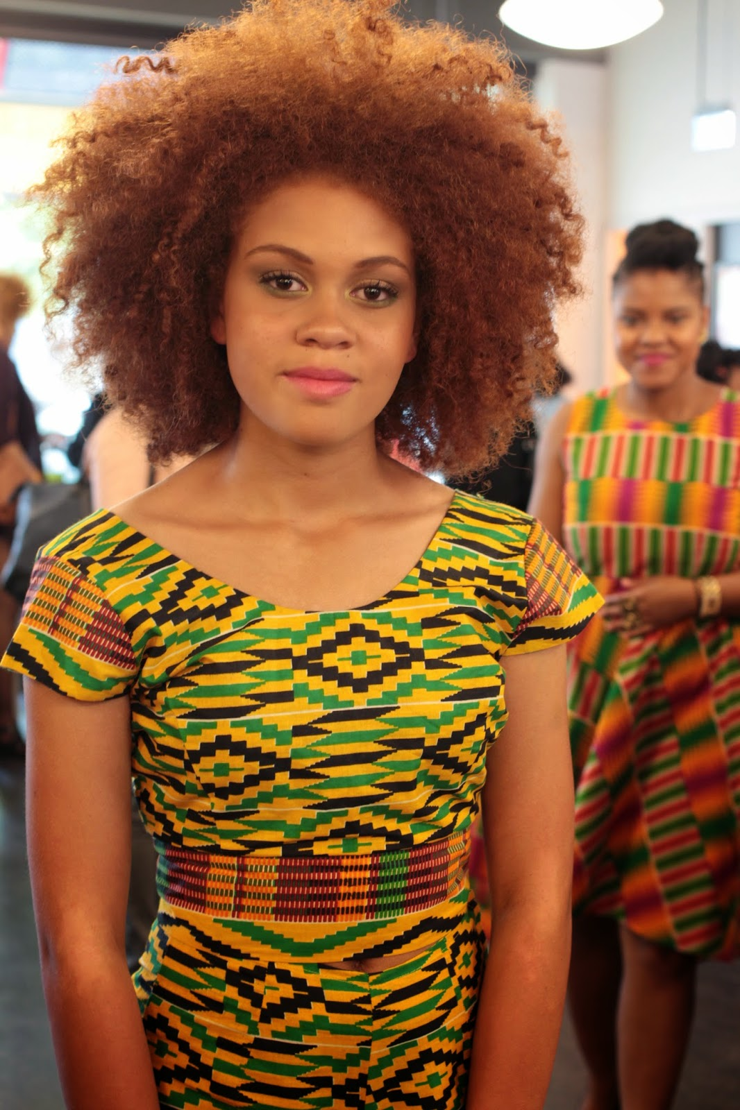 Afro Chic event